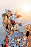 Alpha Flight No.5 Cover: Major Mapleleaf and Alpha Flight Posters por Clayton Henry