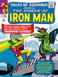 Marvel Comics Retro: The Invincible Iron Man Comic Book Cover No.54, Mandarin's Revenge! Prints