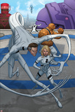 Fantastic Four No.603 Cover: Mr. Fantastic, Invisible Woman, Thing Posters by Mike Choi