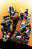 The Superior Foes of Spider-Man 4 Cover: Shocker, Boomerang, Beetle, Speed Demon, Overdrive Print by Paulo Siqueira
