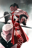 Journey into Mystery 650 Cover: Sif, Bodvar, Svip, Einhar Prints by Jeff Dekal