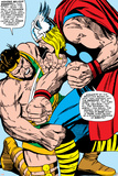 Marvel Comics Retro: Mighty Thor Comic Panel, Hercules Plakaty