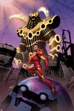 Iron Man 13 Cover: Iron Man Posters af Greg Land