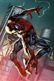 The Amazing Spider-Man 700.4 Cover: Spider-Man Posters av Pasqual Ferry