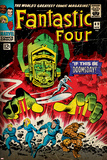 Marvel Comics Retro: Fantastic Four Family Comic Book Cover No.49, If This Be Doomsday! (aged) Posters