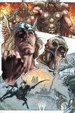 Thor: For Asgard No.1: Thor Posing Print by Simone Bianchi