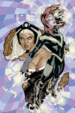 Uncanny X-Men No.528 Cover: Hope Summers and Storm Flying Posters by Terry Dodson