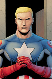 Ultimate Avengers 3 No.1: Captain America Poster by Steve Dillon