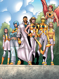 The Official Handbook Of The Marvel Universe Teams 2005 Group: Elixir Posters by Randy Green