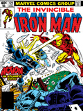 Marvel Comics Retro: The Invincible Iron Man Comic Book Cover No.124, Action in Atlantic City Print
