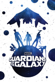 Guardians of the Galaxy - Rocket Raccoon, Drax, Star-Lord, Gamora, Groot Posters
