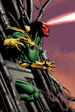 Marvel Adventures Super Heroes No.8 Cover: Vision Running Posters by Clayton Henry