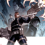 Secret Warriors No.24 Cover: Nick Fury Standing with a Gun Prints by Paul Renaud