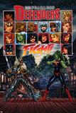 Fearless Defenders 5 Cover: Valkyrie, She-Hulk Planscher av Mark Brooks