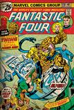 Marvel Comics Retro: Fantastic Four Family Comic Book Cover No.170 (aged) Prints