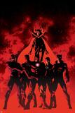 New Avengers 10 Cover: Black Bolt, Black Panther, Dr. Strange, Iron Man, Mr. Fantastic, Namor Photo by Mike Deodato