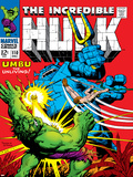 Marvel Comics Retro: The Incredible Hulk Comic Book Cover No.110, with Umbu the Unliving Posters