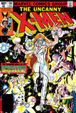 Uncanny X-Men No.130 Cover: Dazzler, Cyclops, Grey and Jean Poster by John Romita Jr.