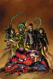 New Avengers No.19 Cover: Spider-Man, Norman Osborn, Viper, Superia Prints by Mike Deodato