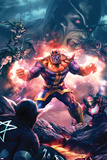 The Thanos Imperative No.3 Cover: Thanos Screaming Posters by Aleksi Briclot