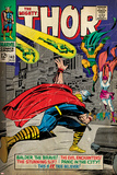 Marvel Comics Retro: The Mighty Thor Comic Book Cover No.143, Sif (aged) Prints