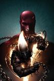 Shadowland: Ghost Rider No.1 Cover: Ghost Rider and Daredevil Posing Plakat av Clayton Crain