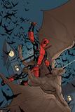 Deadpool: the Gauntlet 1 Cover: Deadpool Affischer av Frank Cho