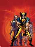 Wizards Wolverine 30th Anniversary Special Cover: Zombie and Wolverine Photo by John Romita Jr.