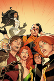 X-Factor No.234: Rictor, Wolfsbane, Siryn, Strong, Guy, M, and Shatterstar Photo by Kirk Leonard