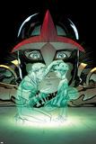Nova 5 Cover: Nova, Alexander, Sam, Alexander, Jesse Prints by Ed McGuinness