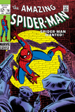 Marvel Comics Retro: The Amazing Spider-Man Comic Book Cover No.70, Wanted! Affischer