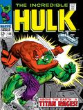 Marvel Comics Retro: The Incredible Hulk Comic Book Cover No.106, Titan Rages Posters