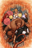 Thunderbolts No.170 Cover: Troll, Mr. Hyde, Moonstone, Satana, and Centurius Prints by John Tyler Christopher