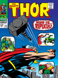 Marvel Comics Retro: The Mighty Thor Comic Book Cover No.141, Who is Replicus Prints