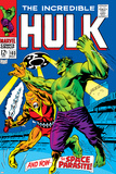Marvel Comics Retro: The Incredible Hulk Comic Book Cover No.103, with the Space Parasite Posters