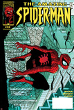 Amazing Spider-Man No.28 Cover: Spider-Man Clutching Posters