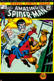 The Amazing Spider-Man No.111 Cover: Spider-Man, Gibbon and Kraven The Hunter Print by John