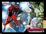 X-Men No.1: 20th Anniversary Edition: Magneto Flying in Space with Energy Plakat autor Jim Lee