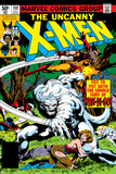 John Byrne - Uncanny X-Men No.140 Cover: Wolverine and Wendigo Fotky