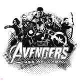 The Avengers: Age of Ultron - Hulk, Black Widow, Thor, Iron Man, Captain America and Hawkeye Photo
