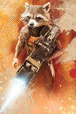 Guardians of the Galaxy - Rocket Raccoon Print
