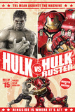 The Avengers: Age of Ultron - Hulk and Hulkbuster Battle Poster Prints