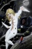 Spider-Island: Cloak & Dagger No.1 Cover: Cloak and Dagger in a Tree Photo by Mike Choi