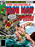 Marvel Comics Retro: The Invincible Iron Man Comic Book Cover No.120; The Sub-Mariner Strikes Prints