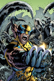 Wolverine: The Best There is No.10 Cover: Wolverine Screaming and Fighting Photo by Bryan Hitch