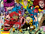 X-Men No.1 Pin-up Group: A Villains Gallery Photo by Jim Lee