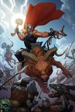 Thor: God of Thunder 14 Cover: Thor Photo by Ron Garney