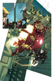 Iron Man 2.0 No.1: Iron Man and War Machine Posters by Barry Kitson