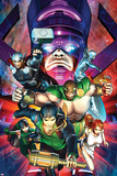 Chaos War No.2 Cover: Amadeus Cho, Hercules, Thor, Silver Surfer, Galactus, Venus, and Sersi Posters by Brandon Peterson