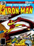 Marvel Comics Retro: The Invincible Iron Man Comic Book Cover No.121; Fighting Namor Poster